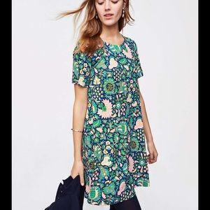 Loft floriculture swing dress.